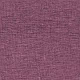 Декоративна однотонна тканина рогожка фіолетового кольору для штор 84459v16, фото 2