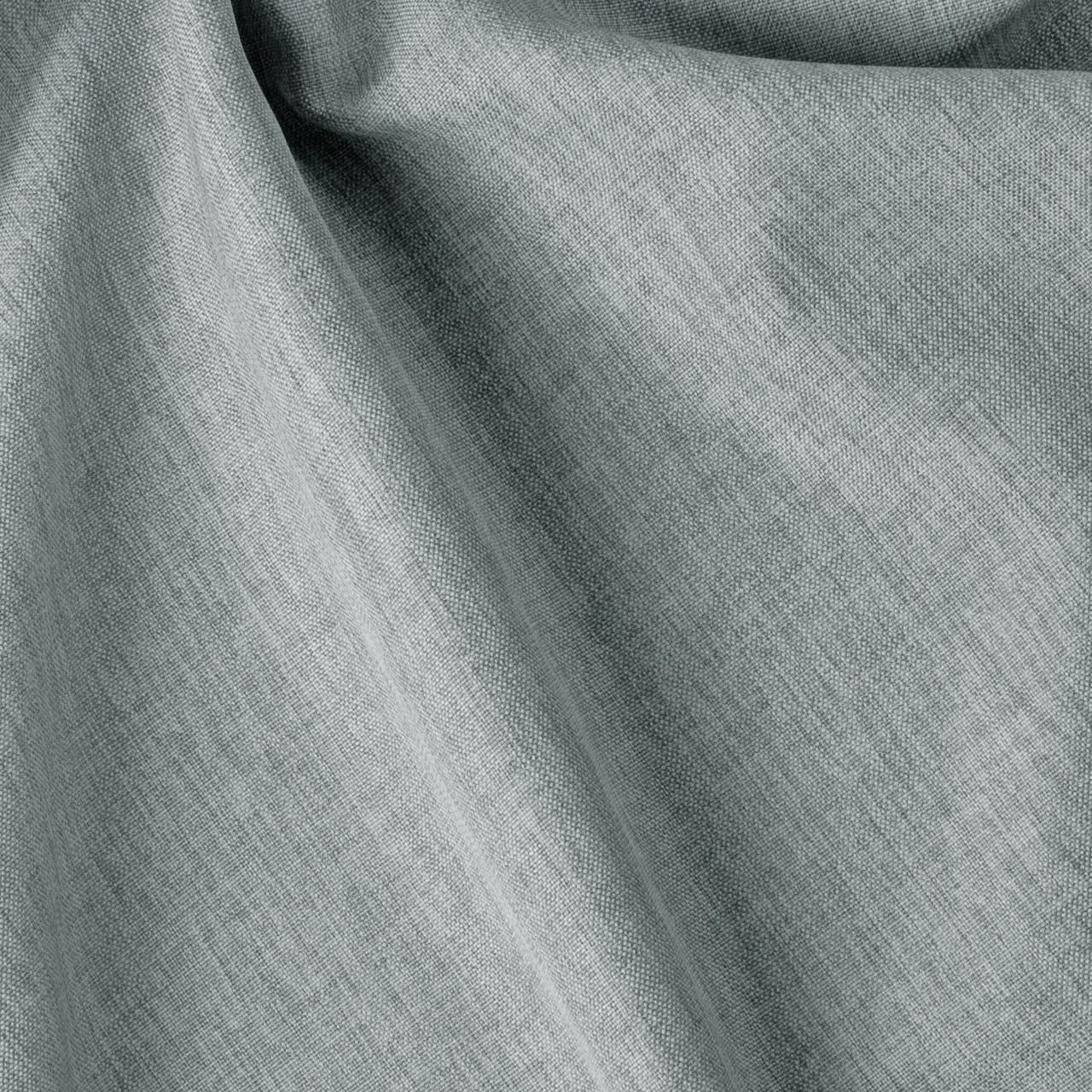 Декоративная однотонная ткань рогожка серая 300см 84467v22