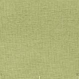 Декоративная однотонная ткань салатного цвета для штор 84472v27, фото 2