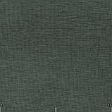 Декоративна однотонна тканина сірого кольору Туреччина 84478v33, фото 2
