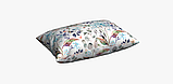 Декоративная ткань с цветами бирюзового и кораллого цвета Испания 84383v1, фото 5