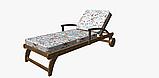 Декоративная ткань с цветами бирюзового и кораллого цвета Испания 84383v1, фото 7