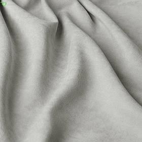 Однотонна декоративна тканина велюр сірий Туреччина 84380v34