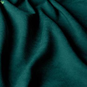 Однотонна декоративна тканина велюр темного кольору смарагду 84369v23