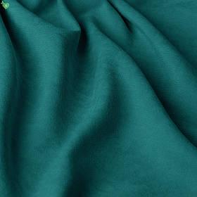 Однотонна декоративна тканина велюр глибока бірюза Туреччина 84368v22