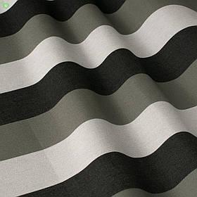 Вулична декоративна тканина сіра смуга чорна і біла 84328v5