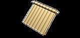 Вулична декоративна тканина смуга коричнева бежева і жовта 84337v1, фото 8