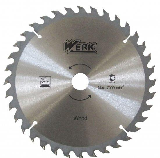 Диск пильный Werk  230х22.23 мм - 40 зуб. (дерево)
