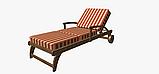 Вулична декоративна тканина смуга червоного і бежевого кольору 84330v3, фото 7
