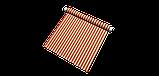 Вулична декоративна тканина смуга червоного і бежевого кольору 84330v3, фото 8