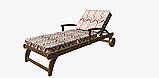 Декоративная ткань с разноцветными зигзагами на белом фоне для покрывала 84305v1, фото 8