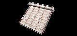 Декоративная ткань с разноцветными зигзагами на белом фоне для покрывала 84305v1, фото 10