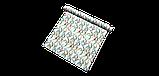 Декоративная ткань с голубыми растениями и розовыми фламинго на белом для подушек на диван 84301v1, фото 9