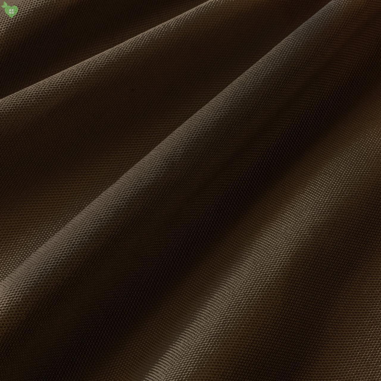 Уличная ткань фактурная коричневого цвета для штор на веранду 84272v6