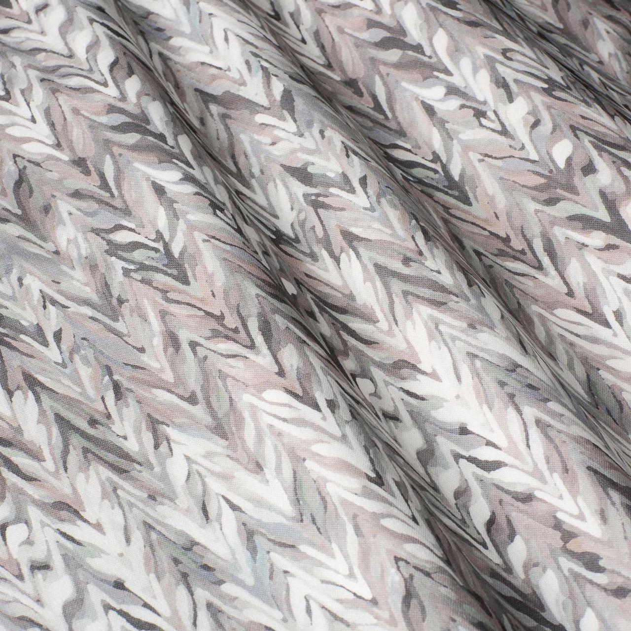 Декоративні тканини з сірим абстрактним візерунком 84293v2