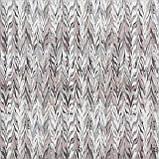 Декоративні тканини з сірим абстрактним візерунком 84293v2, фото 2