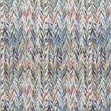 Декоративная ткань с цветным абстрактным узором 84292v1, фото 3
