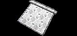 Декоративні тканини з великими сірими рослинами і птахами 84291v2, фото 8