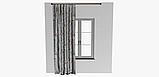 Декоративная ткань с мелкими бутонами розовых и бежевых цветов на голубом фоне Испания 400342v83432v3, фото 6