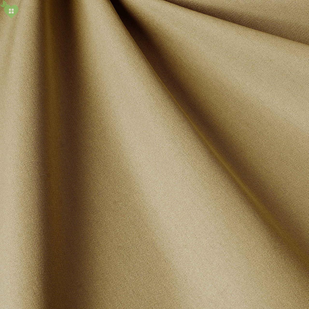 Однотонна вулична тканина глибокого жовто-коричневого кольору акрилова Іспанія 83385v13