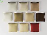 Однотонна вулична тканина глибокого жовто-коричневого кольору акрилова Іспанія 83385v13, фото 2