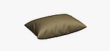 Однотонна вулична тканина глибокого жовто-коричневого кольору акрилова Іспанія 83385v13, фото 4