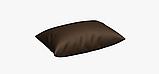 Однотонная уличная ткань темно-коричневая Испания 83387v15, фото 4