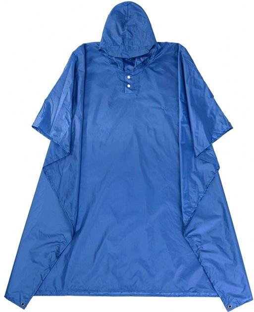 Пончо-тент Naturehike 210T polyester New NH17D002-M голубой (NH)