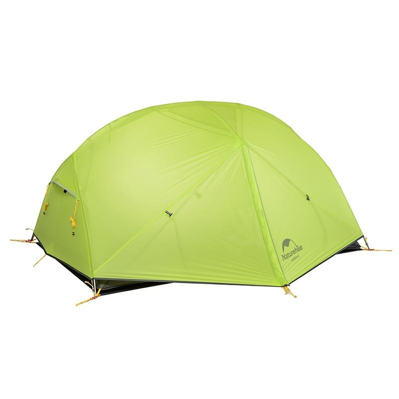 Палатка Naturehike Mongar II (2-х местная) 20D silicone + footprint (NH)