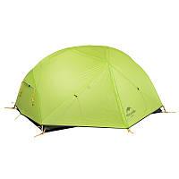 Палатка Naturehike Mongar II (2-х местная) 20D silicone + footprint (NH), фото 1