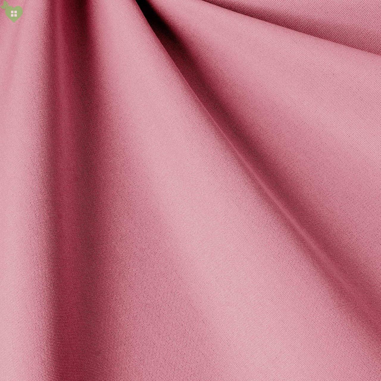 Однотонная уличная ткань розовая с водоотталкивающими свойствами Испания 83392v20