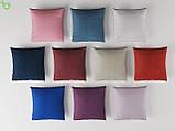 Однотонная уличная ткань розовая с водоотталкивающими свойствами Испания 83392v20, фото 3