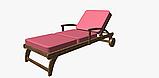 Однотонная уличная ткань розовая с водоотталкивающими свойствами Испания 83392v20, фото 6
