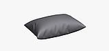 Однотонная уличная ткань серого цвета Испания 83407v34, фото 4