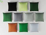 Однотонна вулична тканина темно-зеленого кольору Іспанія 83408v35, фото 2