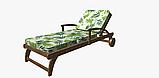 Декоративная ткань зеленые листья тропических растений Испания 83354v1, фото 5