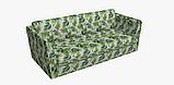 Декоративная ткань зеленые листья тропических растений Испания 83354v1, фото 6