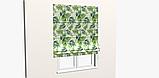 Декоративная ткань зеленые листья тропических растений Испания 83354v1, фото 7
