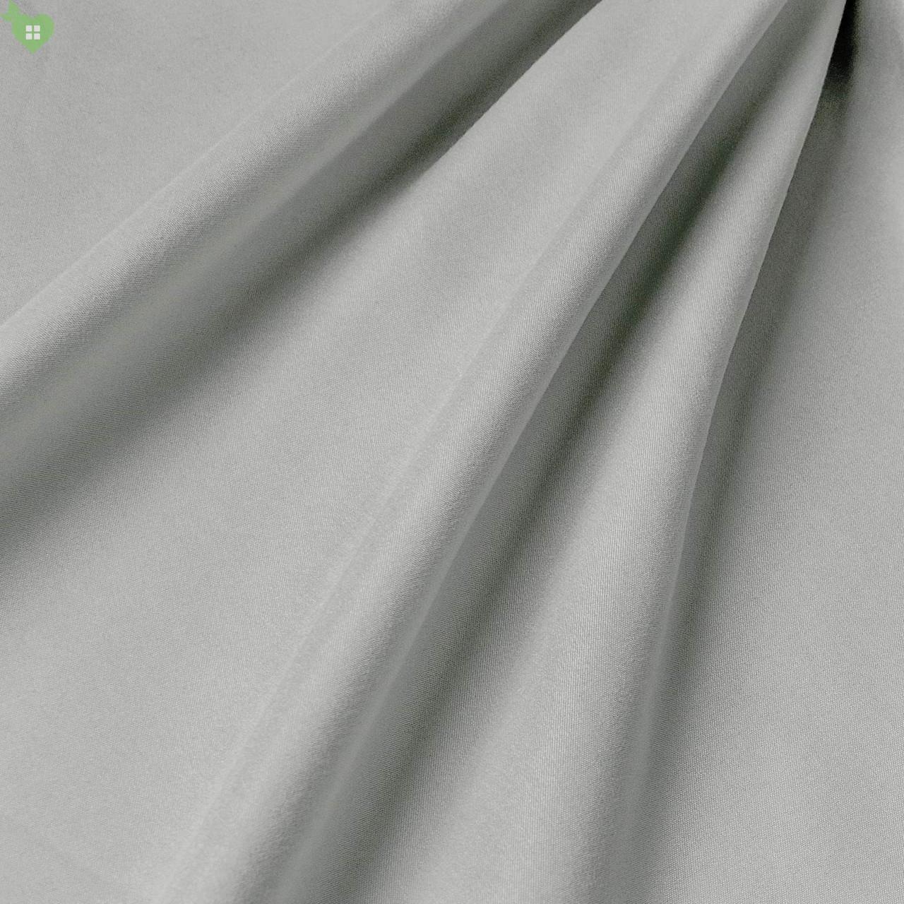 Підкладкова тканина з матовою фактурою перламутрового темно-сірого кольору Іспанія 83327v30