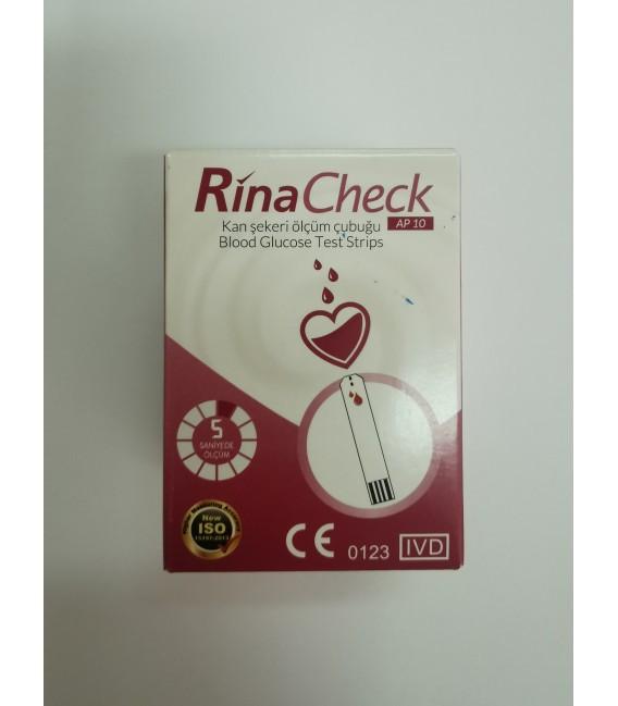 Тест-смужки Ріна Чек (Rina Check), 50 шт. 30.10.2022 р.