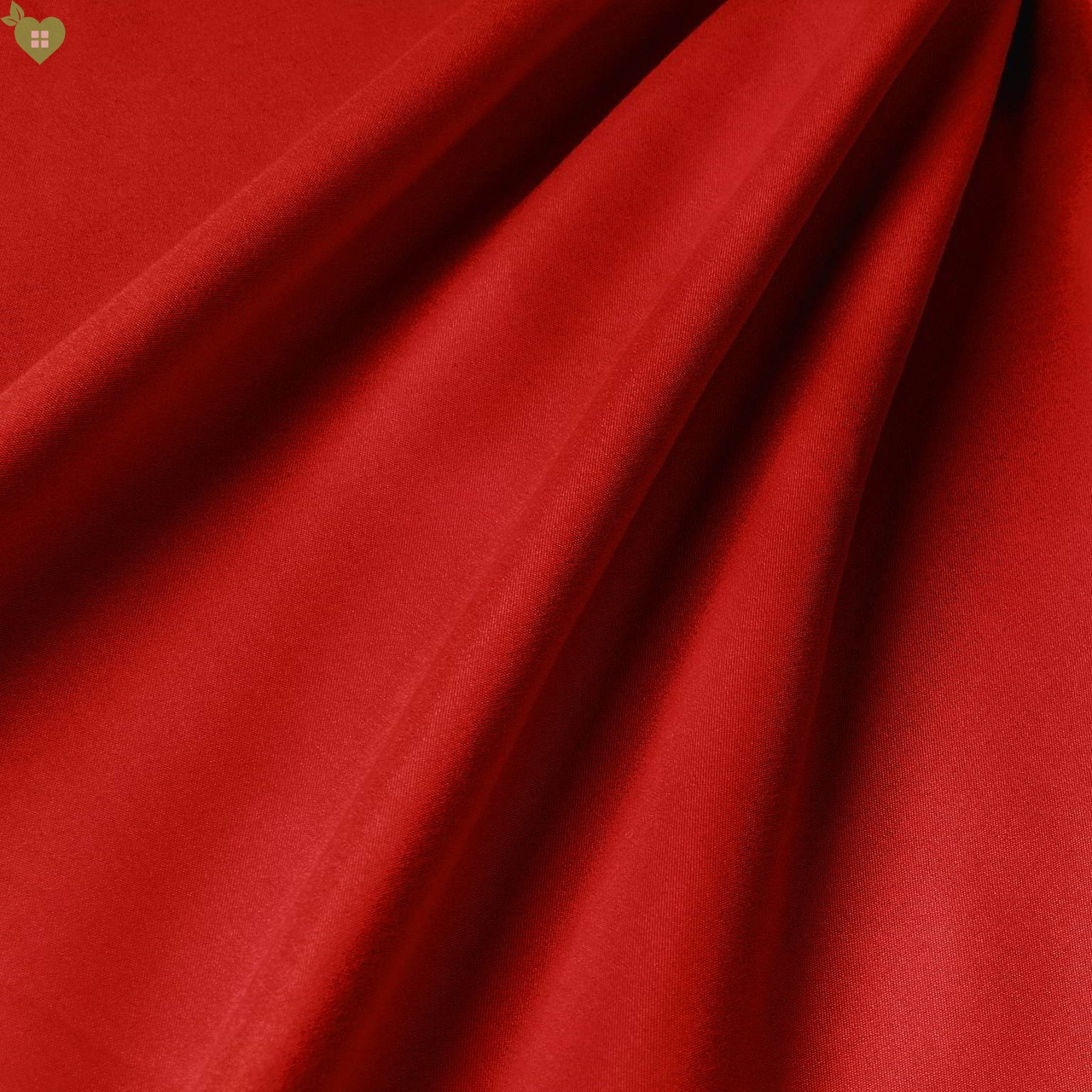 Підкладкова тканина персикова фактура люмінесцентно-червона Іспанія 83314v17