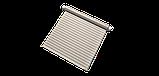 Декоративная ткань с рисунком искаженной шахматной доски бежевого цвета Испания 83292v1, фото 8