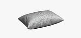 Декоративна тканина з сріблястим класичним візерунком на сірому тлі жаккард Іспанія 83290v1, фото 4