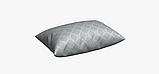 Декоративна тканина в ромбик сіра жаккард 83288v1, фото 4
