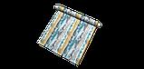 Декоративная ткань с размытыми голубыми и коричневыми полосами Испания 83297v3, фото 6