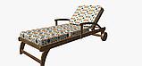 Декоративна тканина в дрібні помаранчеві і блакитні ромби на білому Іспанія 83278v1, фото 6