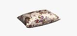 Декоративная ткань веточки бордовых и фиолетовых роз Турция 81441v6, фото 4