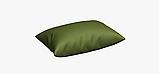 Однотонна декоративна тканина кольору зелені з тефлоном TDRY-81013, фото 4