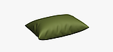 Однотонная декоративная ткань цвета зелени с тефлоном TDRY-81013, фото 4