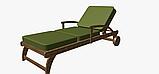 Однотонна декоративна тканина кольору зелені з тефлоном TDRY-81013, фото 5